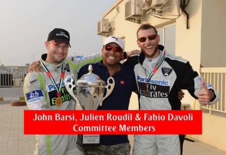 John Barsi, Julien Roudil and Fabio Davoli - Committee Members