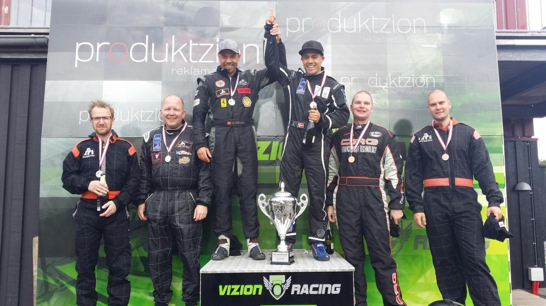 WIAK 2014 podium