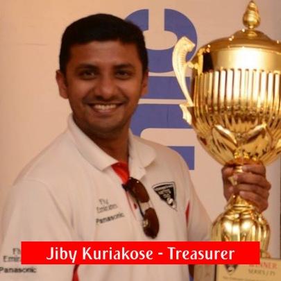 Jiby Kuriakose - Treasurer
