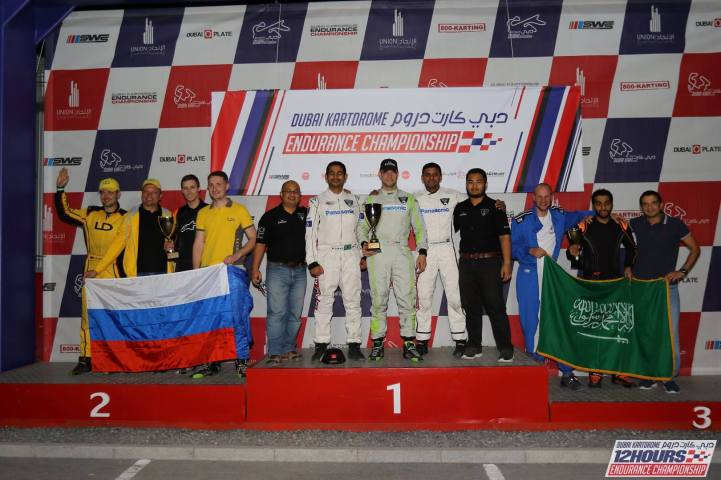 Dubai Kartdrome Endurance 2018 Rd 1 - Team Emirates - P1 Corporate